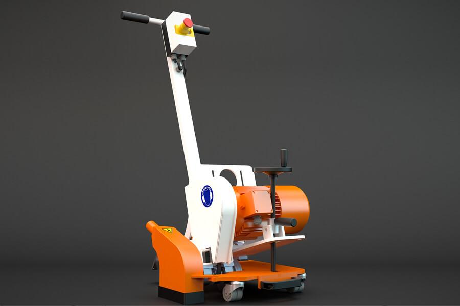 floor milling machine