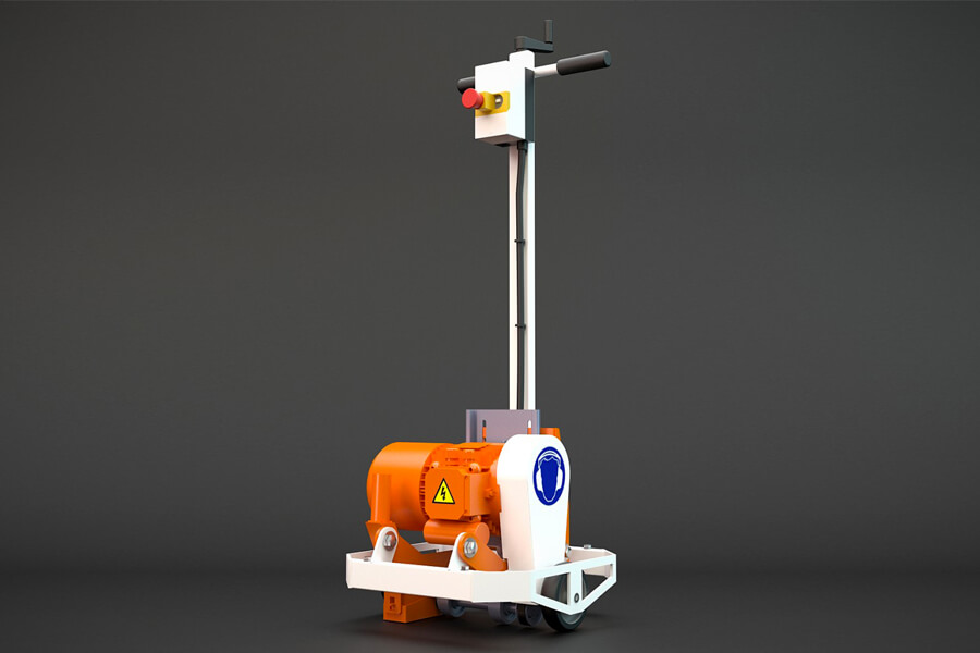 milling machine light