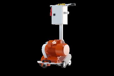 Self-propelled Floor Heating Milling Machine